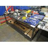 Steel Table 36''H x 48''D x 96''W