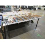 Steel Table 35''H x 48''D x 96''W x 0.5'' Thick