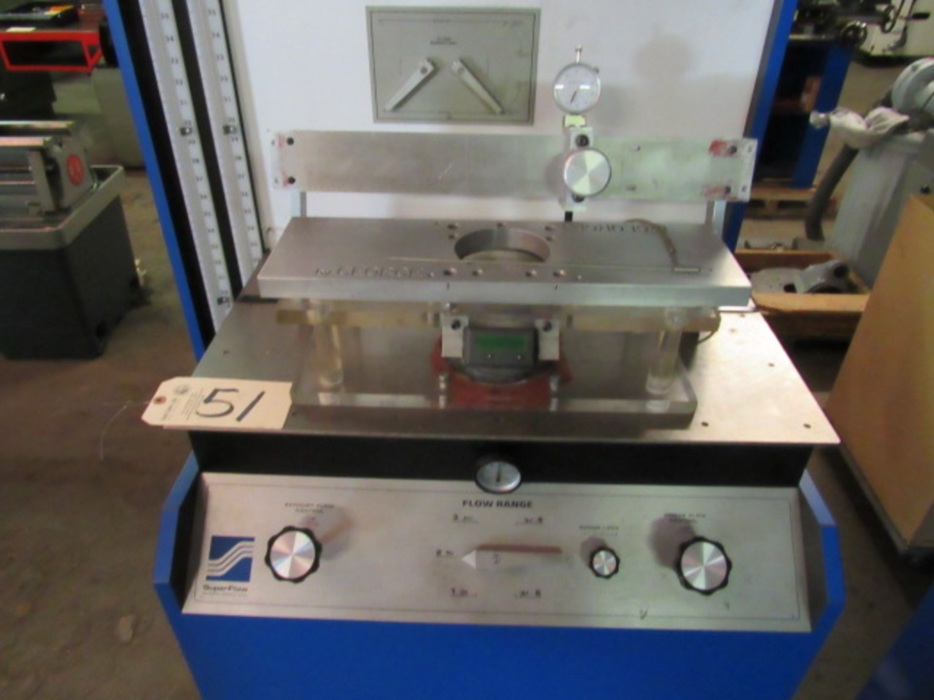Lot 51 - Superflow Model SF-600 Test System