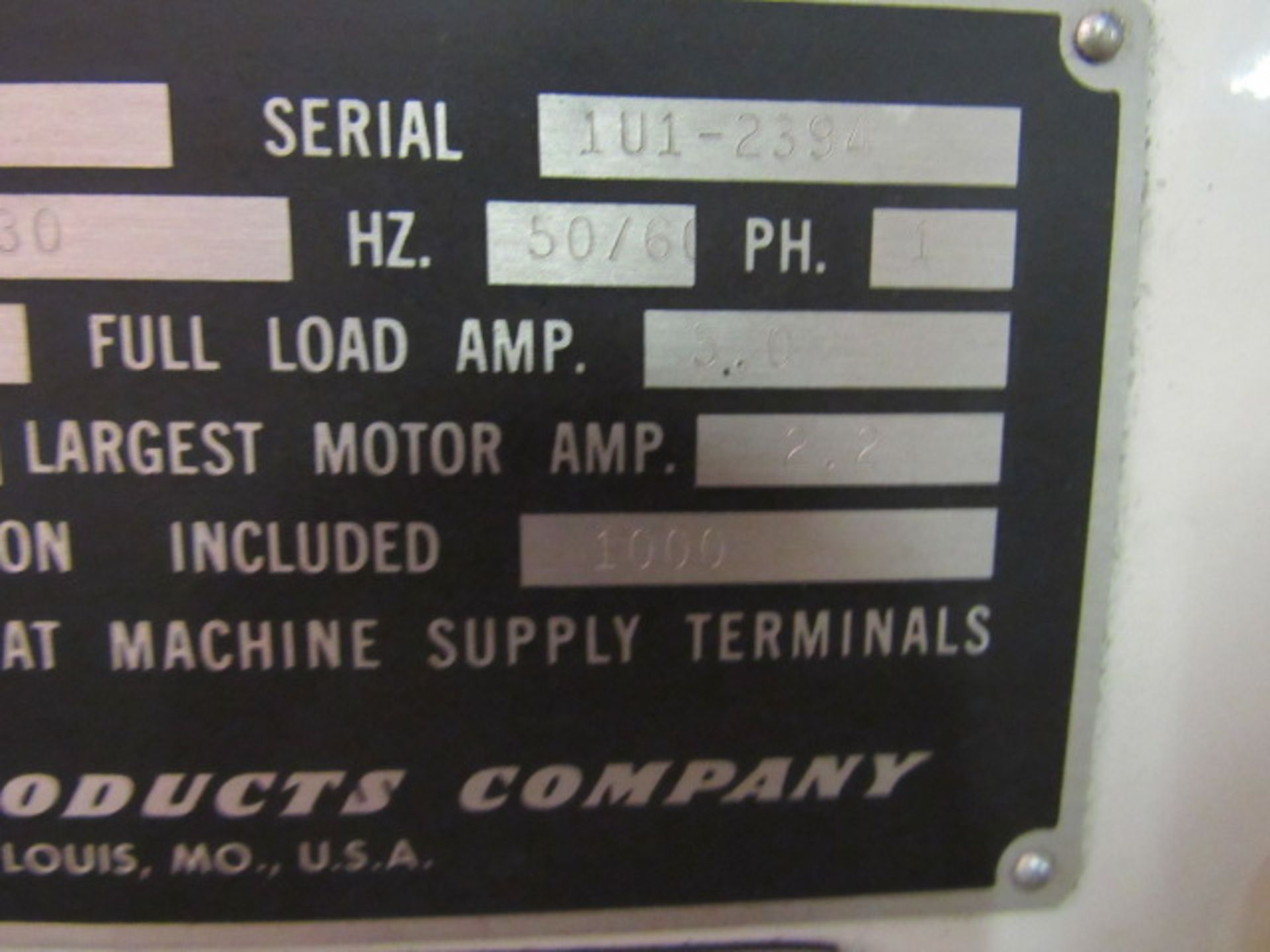 Lot 35 - Sunnen Model VGS-20-P Travelling Column Valve Seat & Guide Machine