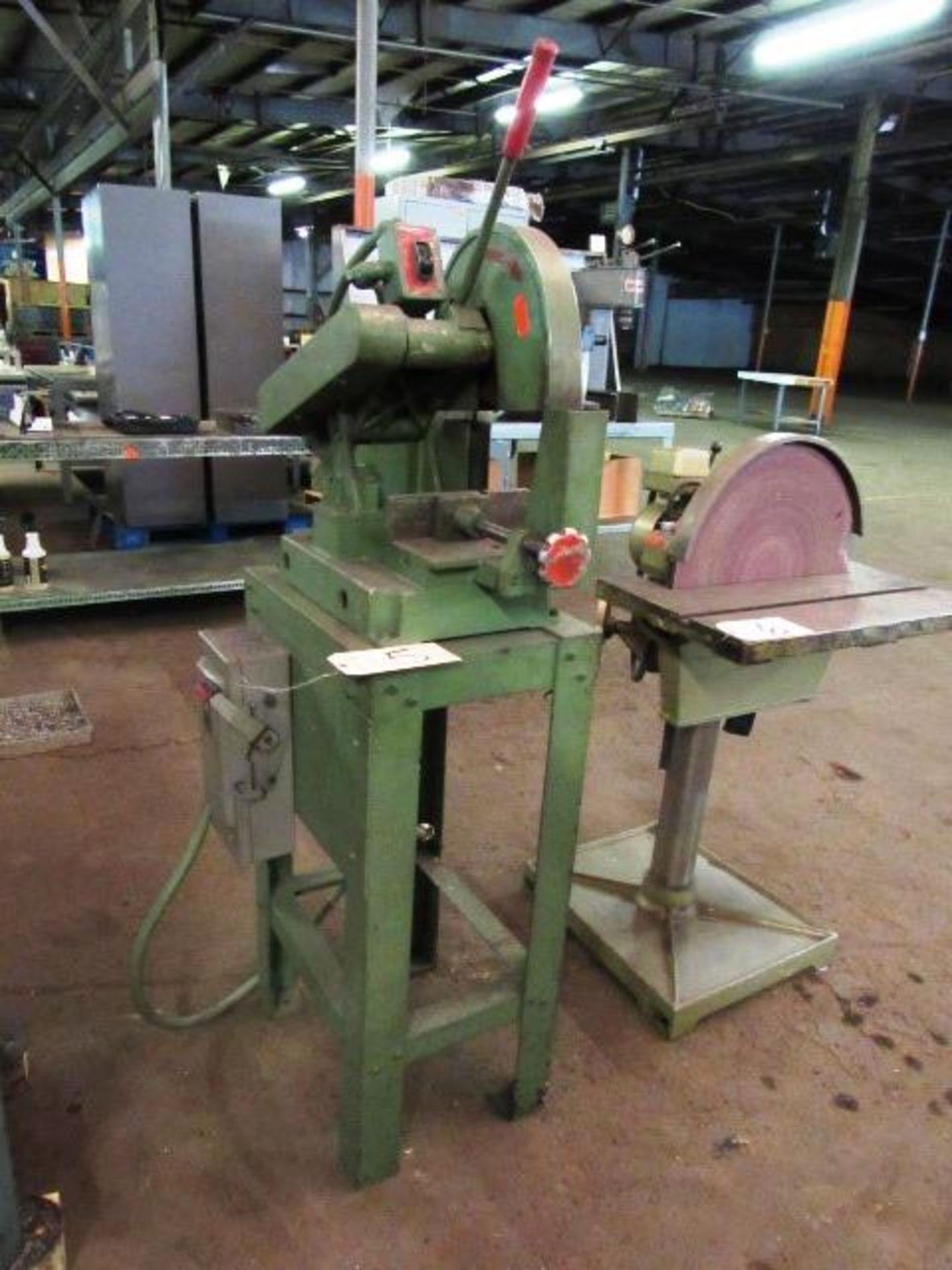 Lot 5 - Toledo-Beaver-Tool Co. Speed Cut #110 Abrasive Chop Saw, sn:110-600-00897