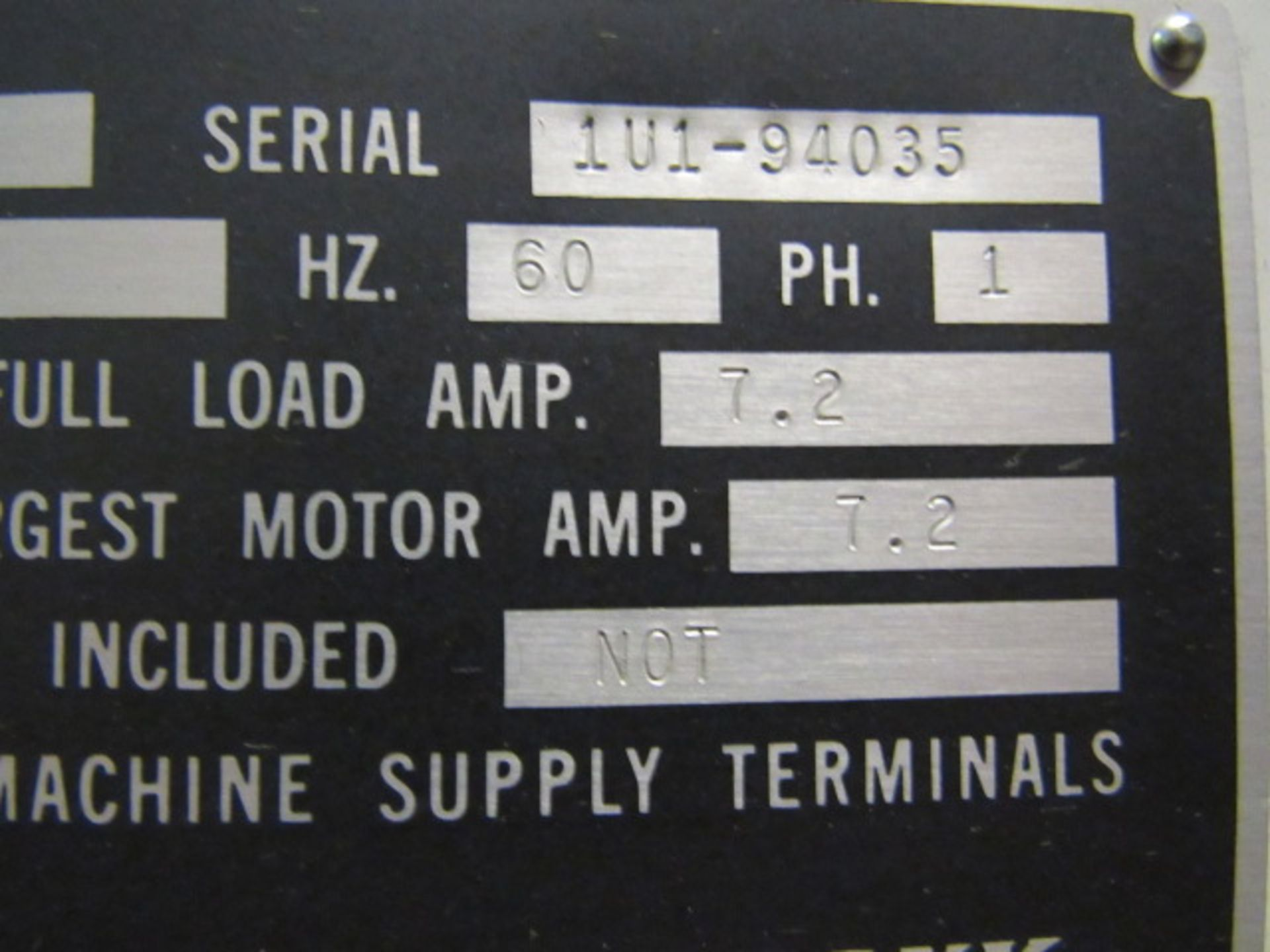 Lot 36 - Sunnen Model LBB 1660-K Horizontal Rod Hone
