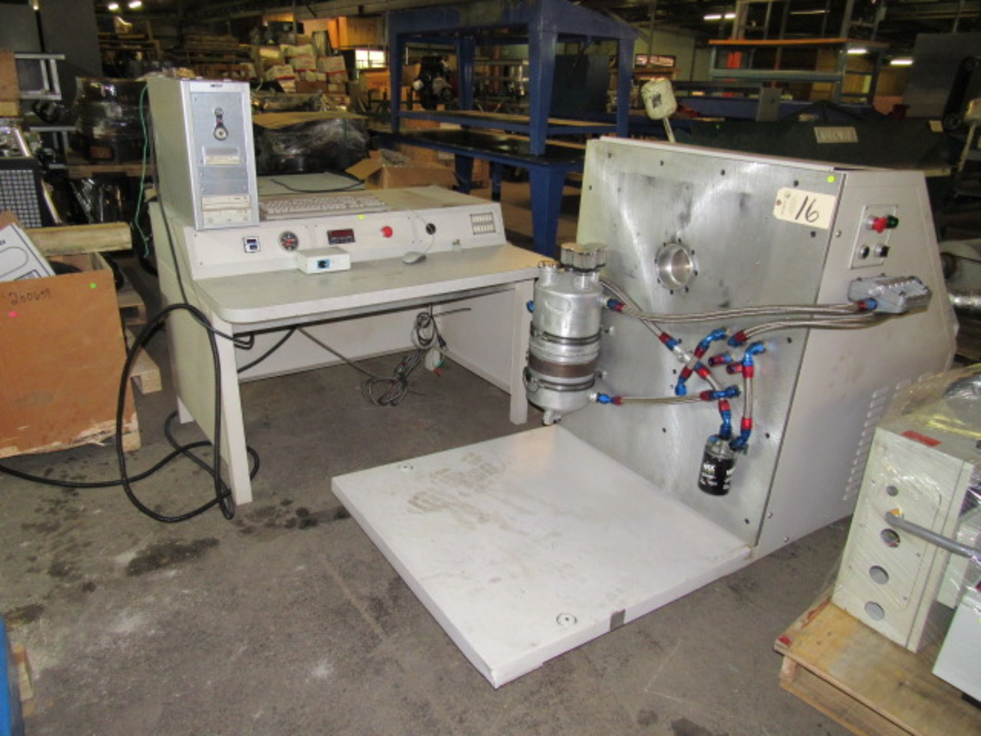 Lot 16 - Spintron Valvetrain Test System