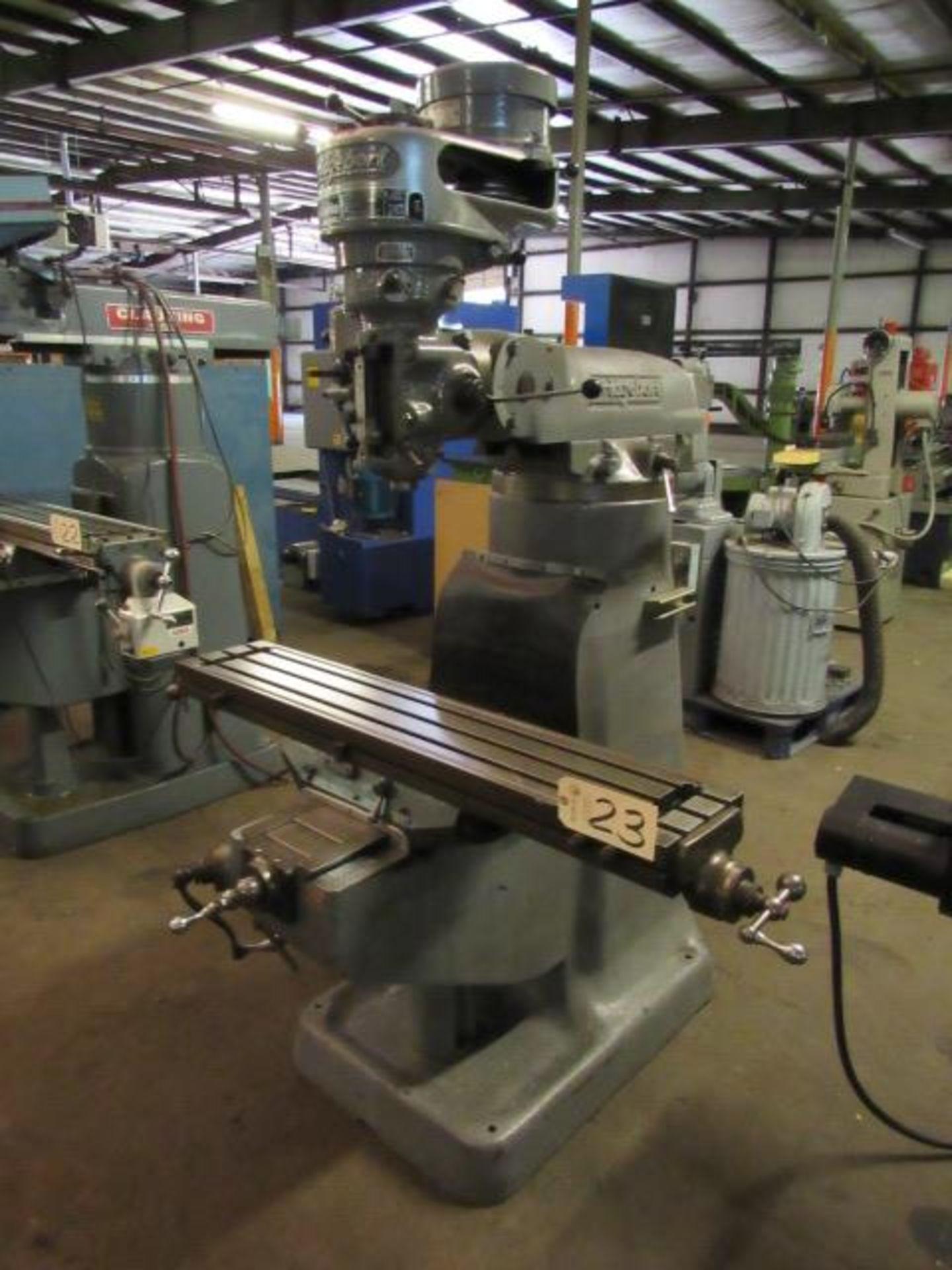Lot 23 - Bridgeport Vertical Milling Machine