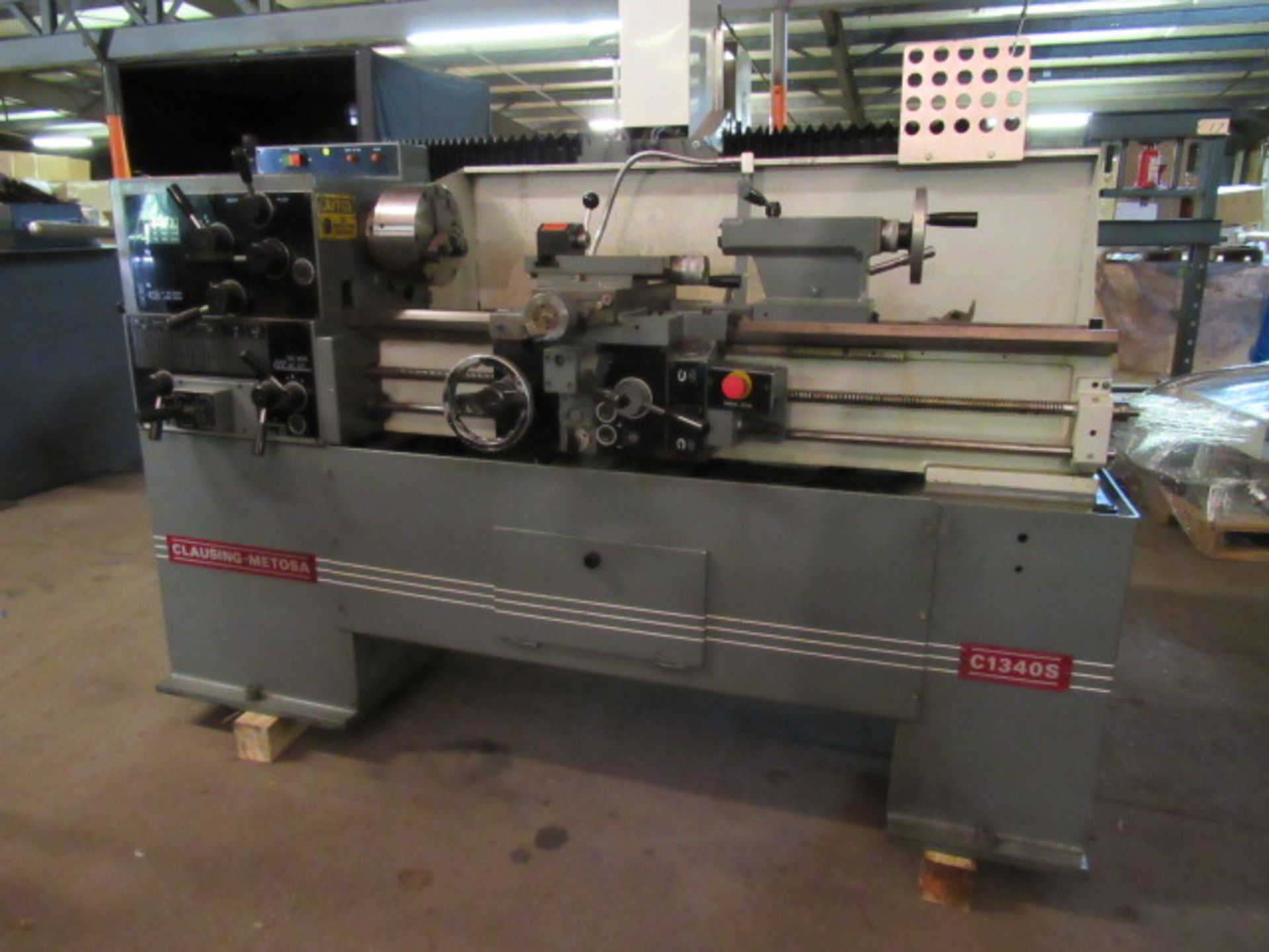 Lot 19 - Clausing-Metosa Model C1340S Engine Lathe