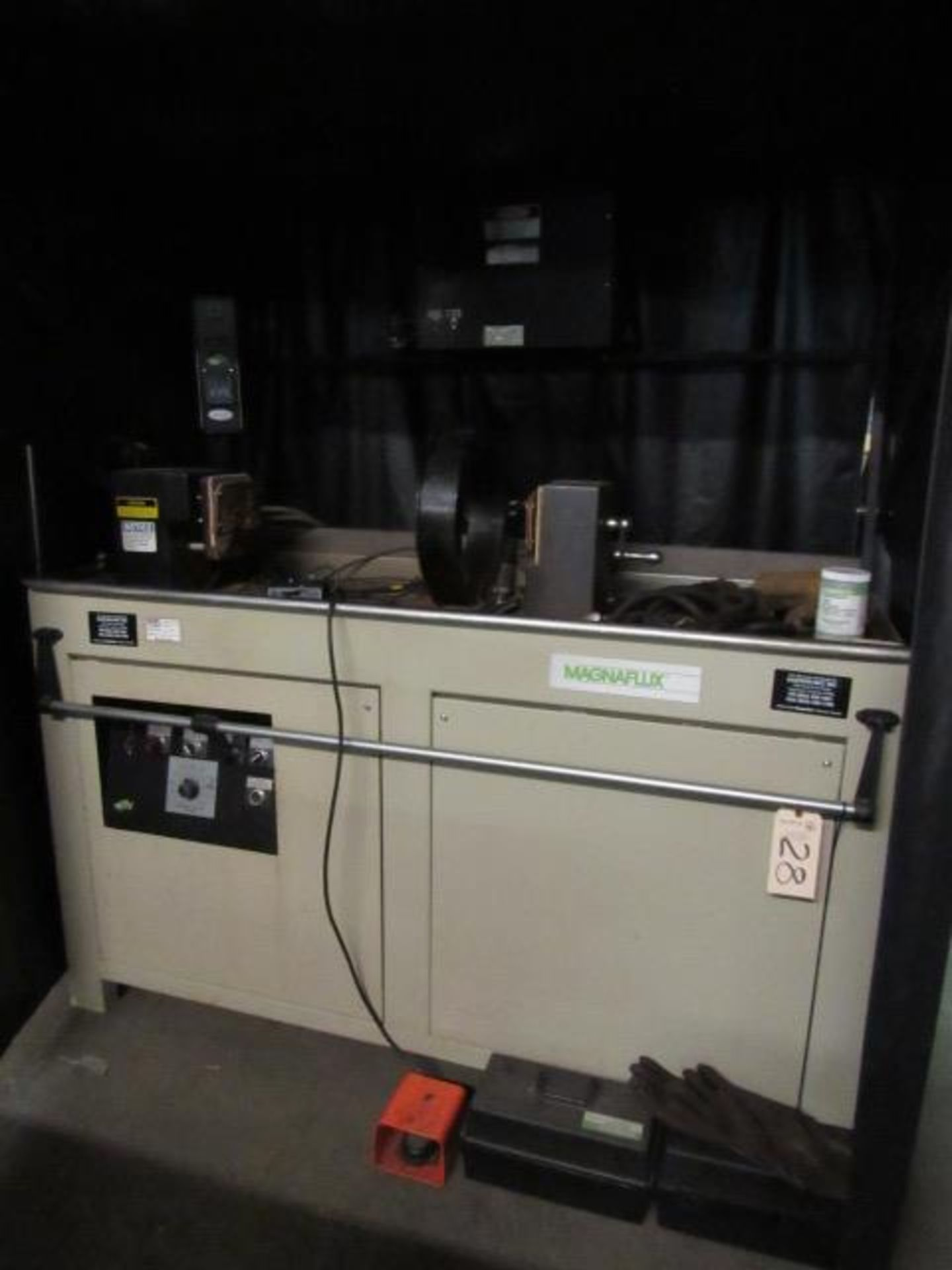 Lot 28 - Magnuflux Model AD-945 Magnetic Particle Inspection Machine