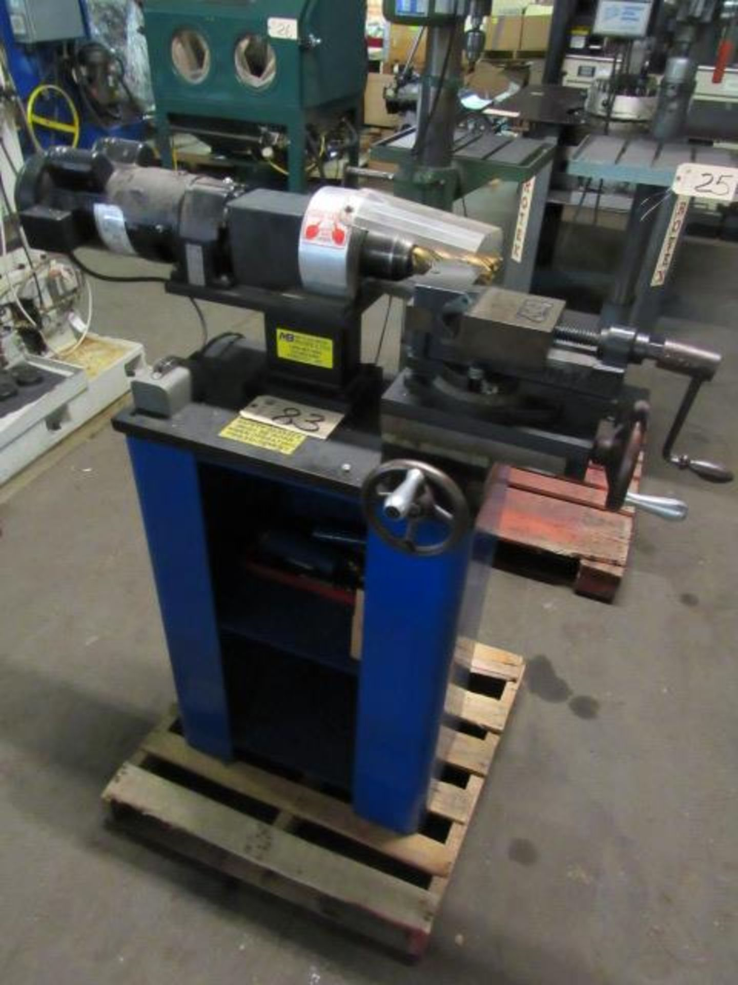 Lot 83 - Mittler Brothers 400-S Tubing Notcher & End Mill Cutter