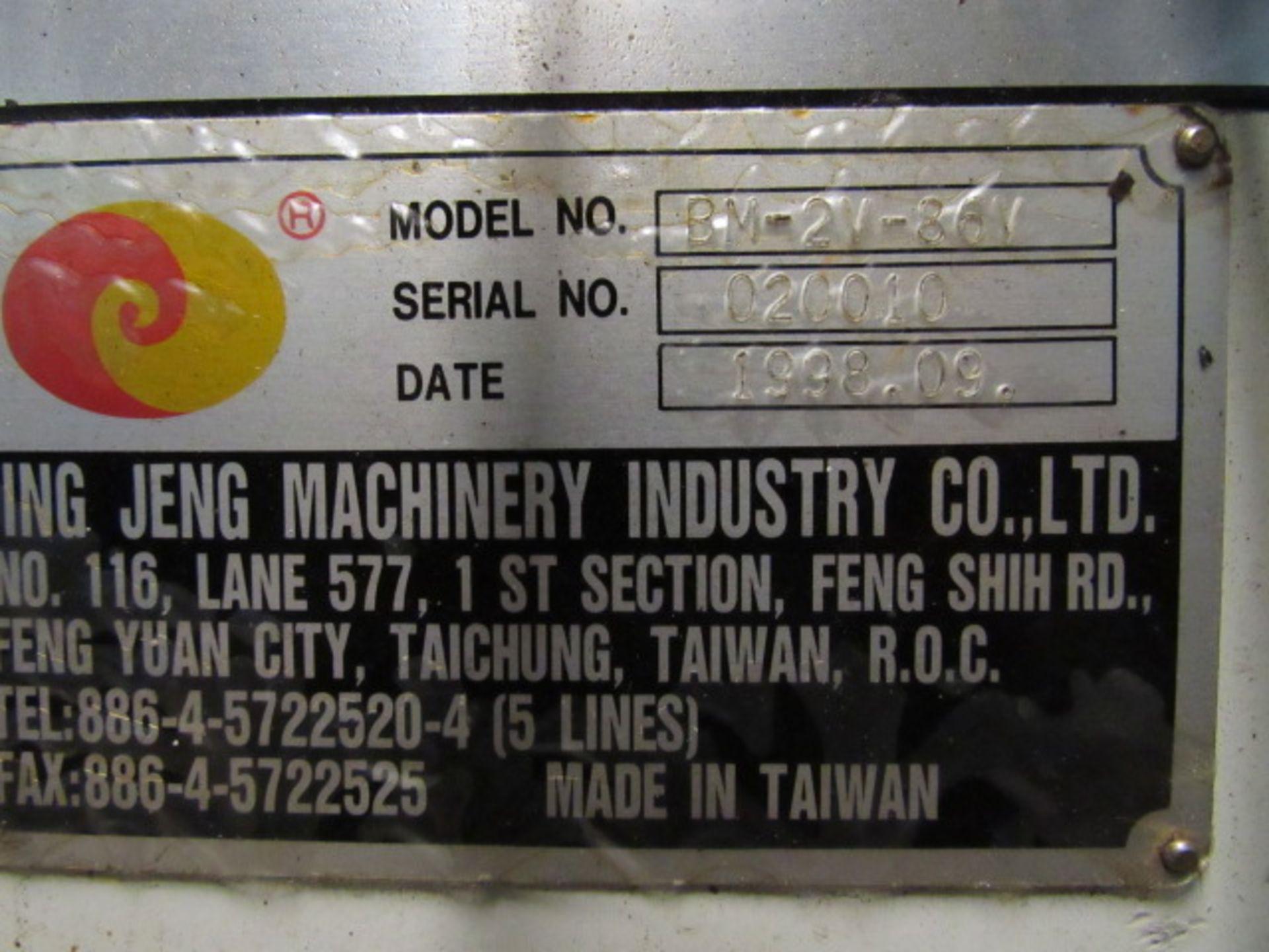 Lot 46 - V10 Automotive Model BM-2V-86V Vertical Milling Machine
