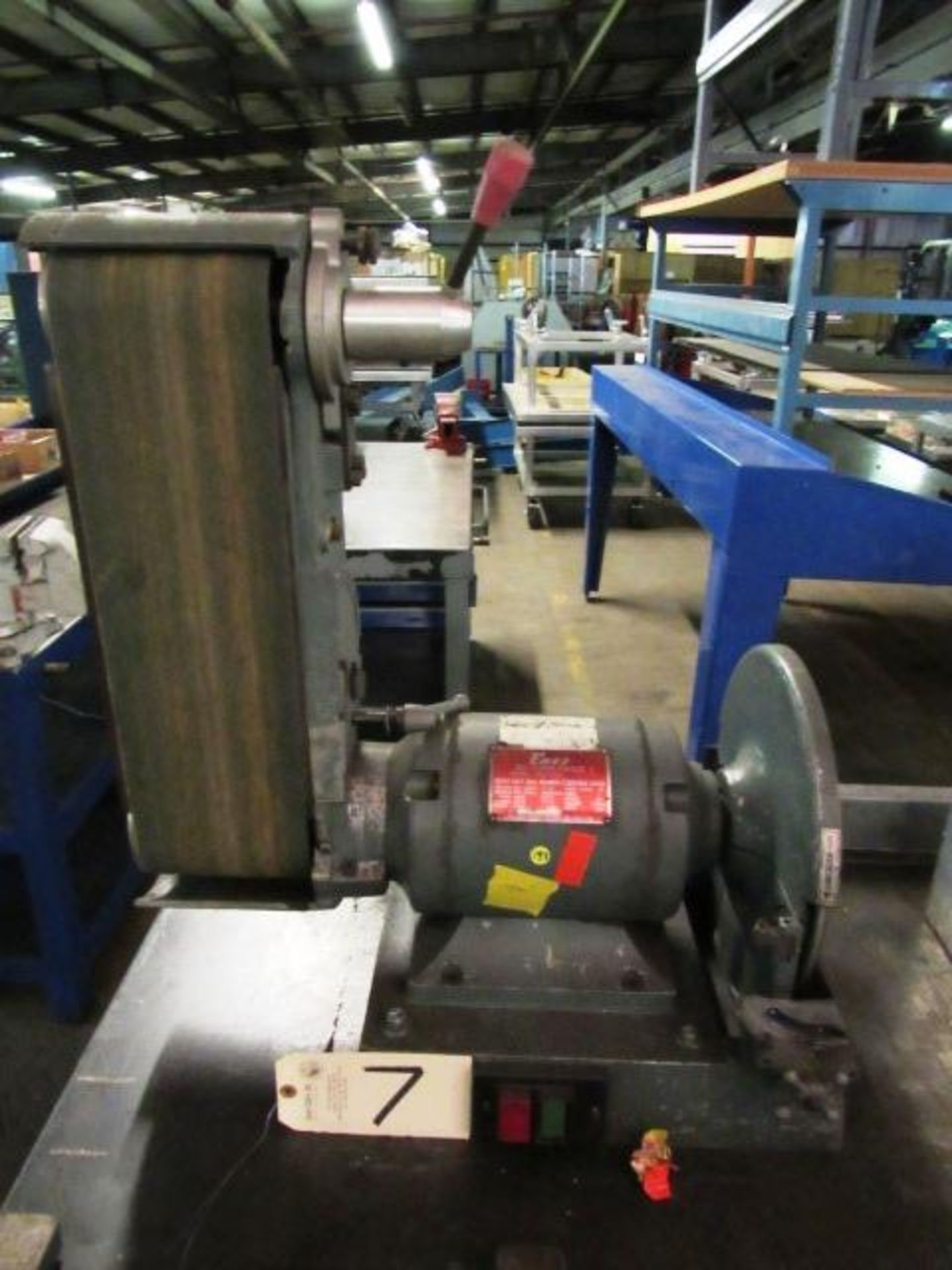 Lot 7 - Enco Model 163-4700 6'' x 12'' Bench Grinder / Sander, sn:908006