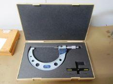Mitutoyo 4''-5'' Digital Micrometer
