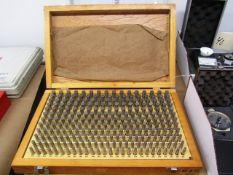 Meyer M-2 Minus 0.251''-0.500'' Pin Gauge Set