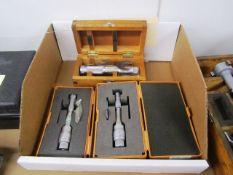 (3) Mitutoyo Hole Micrometers