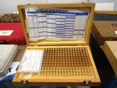 Meyer M-1 Plus 0.061''-0.250'' Pin Gauge Set
