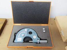 Mitutoyo 1''-2'' Snap Micrometer