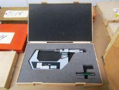 Mitutoyo 3''-4'' Digital Micrometer