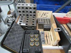 2-4-6 Blocks & 2-3-4 Blocks & Mitee-Bite Clamps