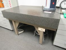 """Granite 36"""" x 42"""" Surface Plate with Stand"""