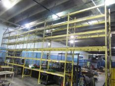 6 Sections of 36'' x 90''W Multitier Pallet Racking