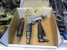 Assorted Pneumatic Hand Tools