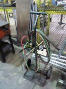 Oxygen & Acetylene Torch Cart
