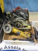 Assorted Electric Hand Power Tools
