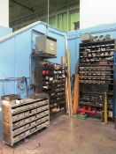 (3) Nut & Bolt Type Tool Storage Cabinets with Assorted Nuts, Bolts, Elbows, Anchors, Etc