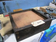 16'' x 16'' x 4'' Pink Granite Surface Plate