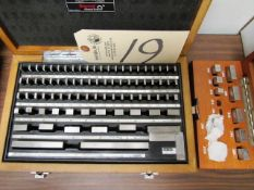 Starrett Block Gauge Set