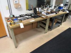 (2) Butcher Block Workbenches