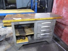 Kennedy 5 Drawer Workbench