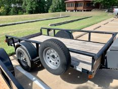 Parker Performance Single Axle Utility Trailer
