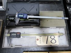 (3) Digital Calipers