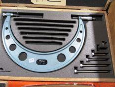 Mitutoyo 6''- 12'' Micrometer