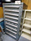 9 Drawer Tool Cabinet