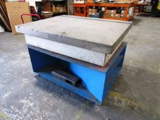 48'' x 60'' Granite Surface Plate with Stand
