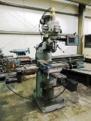 Bridgeport Series 1 2-Axis CNC Knee Milling Machine with 9'' x 42'' Table, Spindle Speeds to 4,200