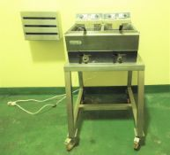 Lincat DF33 Portable Frying Station.