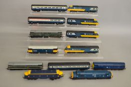 OO Gauge. 6 unboxed Diesel Locomotives by Hornby, Lima, Airfix etc. together with Hornby BR Inter-