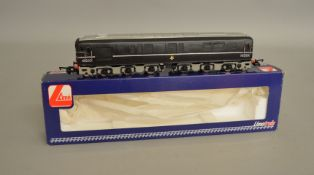 OO Gauge. A boxed Silver Fox Models  1-Co-Co-1 Diesel Locomotive '10203' BR black with silver