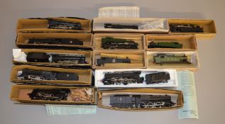 OO Gauge 13 Graham Farish Locomotives mostly boxed and vary in condition (13). [NO RESERVE.