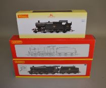 OO Gauge. 3 boxed Hornby Steam Locomotives, including R.2545 BR Fowler 0-6-0 Class 4F '44218' (