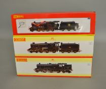 OO Gauge. 3 boxed Hornby DCC Ready 'Weathered Edition' Locomotives, R2395A BR 2-8-0 Class 8F '