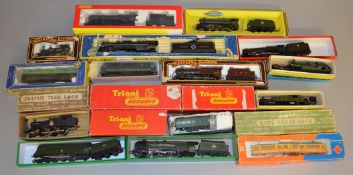 OO/HO Gauge 18 boxed Locomotives by Palitoy, Graham Farish etc, some are in original boxes, includes