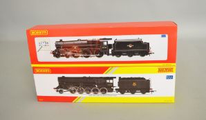OO Gauge. 2 boxed Hornby DCC Ready Locomotives, R2555 BR 4-6-0 Class 5MT '45156 Ayrshire Yeomanry'