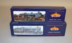 OO Gauge. 2 boxed Bachmann BR weathered Steam Locomotives, 31-160 4-6-0 Jubilee Class  '45697