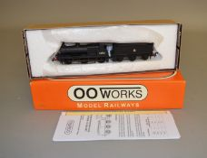OO Gauge. A boxed OO Works 0-6-0 Midland Class 1142 Locomotive '58182' with Belpaire Boiler, BR