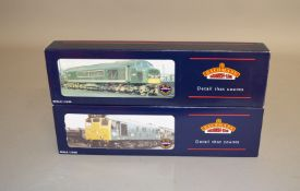 OO Gauge. 2 boxed Bachmann BR green Diesel Locomotives, 32-675 Class 45  'D67 The Royal