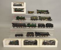 OO Gauge. 11 unboxed Locomotives by Hornby, Lima etc. including 4-6-2 with Tender 'Princess