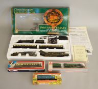 OO Gauge. A boxed Hornby R775 GWR 150th Anniversary Limited Edition Train Set containing Locomotive,