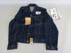 Madonna Music Maverick / Warner Bros Levi Strauss & Co red tab promotional denim jacket extra